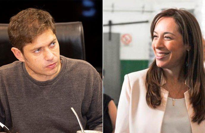 María Eugenia Vidal y Axel Kicillof en la pelea bonaerense