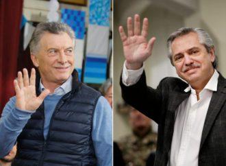 Macri y Alberto Fernández acordaron una tregua para calmar a los mercados