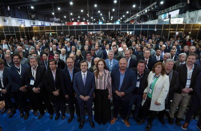 Con estrategia propia, Vidal se reunió con industriales y anunció medidas