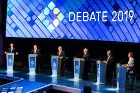 Paridad en el primer debate presidencial