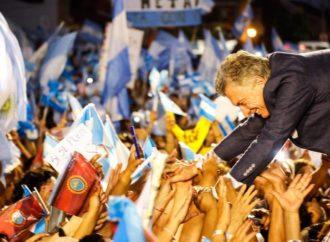 """Fervor y multitudes. La gira del """"Sí se puede"""" por dentro"""