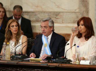 Alberto Fernández inició su mandato con un fuerte llamado a la unidad