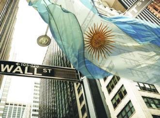 Wall Street: Argentina más cerca de un default