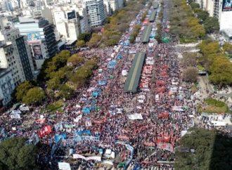 """Aval y pedido de """"sensatez"""" del Gobierno a la marcha piquetera contra el FMI"""