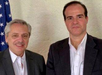El Presidente conversó con el nuevo presidente del BID para dar vuelta la página tras la dura disputa