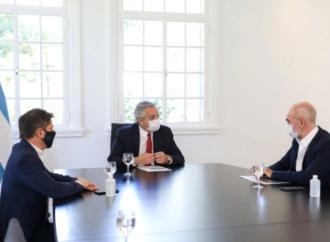 Cumbre. Alberto Fernández exigió un mayor compromiso para reforzar controles a Larreta, Kicillof y otros gobernadores