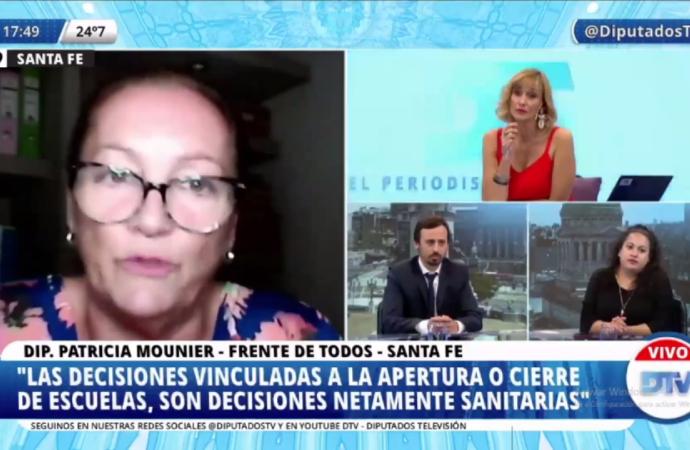 DIPUTADOS SE REFIRIERON A LA SUSPENSIÓN DE CLASES PRESENCIALES