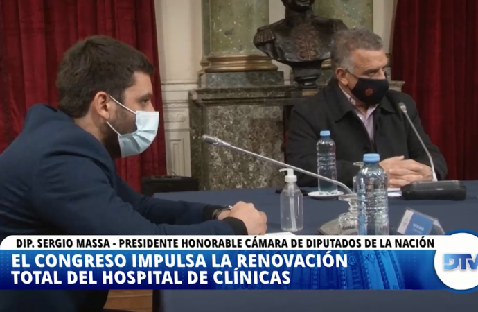 El congreso impulsa la renovación total de Hospitales de Clínicas